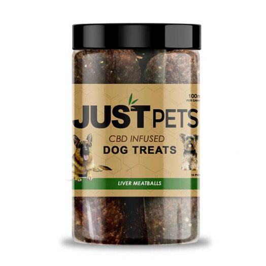 JustCBD CBD Dog Treats - Liver Meatballs Small Product Picture