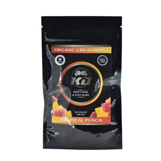Knockout CBD CBD Gummies - Tropical Punch Small Product Picture