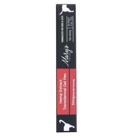 Mary's Tails Hemp Extract Transdermal Gel Pen - 50 mg