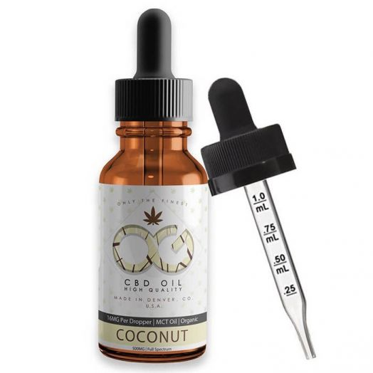 OG Labs Full Spectrum CBD Tincture - Coconut Small Product Picture