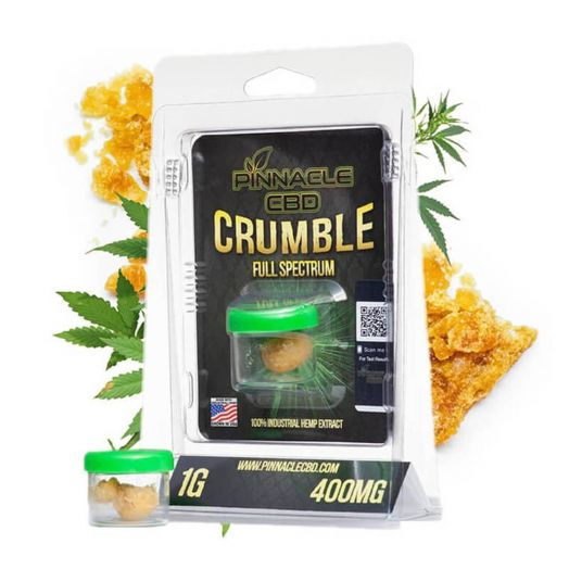 Pinnacle Hemp Full Spectrum CBD Concentrate - Crumble Small Product Picture