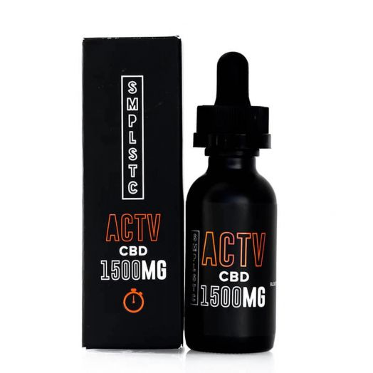 SMPLSTC CBD Full Spectrum CBD Tincture - ACTV Small Product Picture