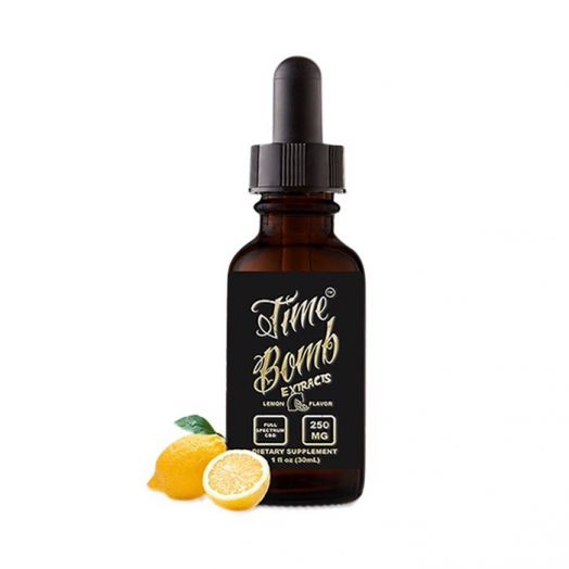 Time Bomb Extracts CBD Tincture - Lemon Product Picture