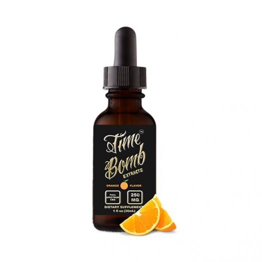 Time Bomb Extracts CBD Tincture - Orange Small Product Picture