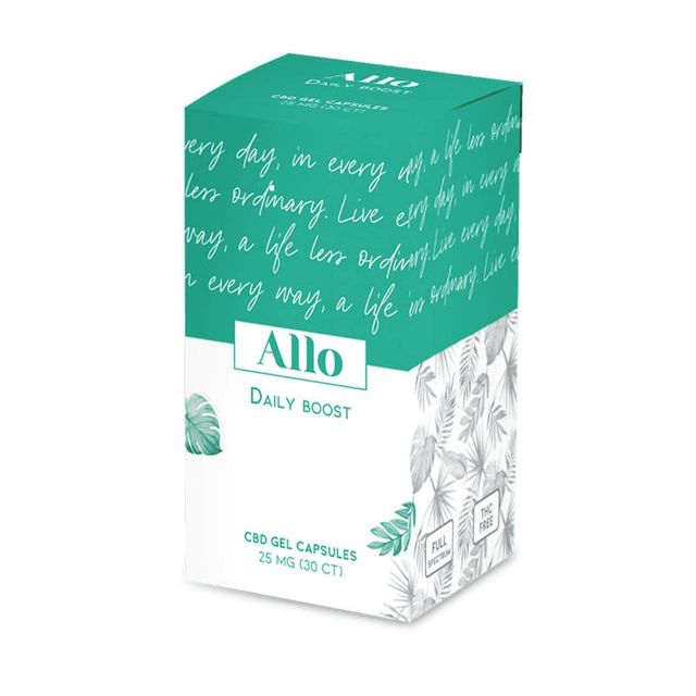 ALLO CBD CBD Capsules - Daily Boost Small Product Picture