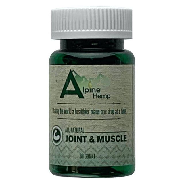 Alpine Hemp CBD Capsules - Joint and Muscle Small Product Picture