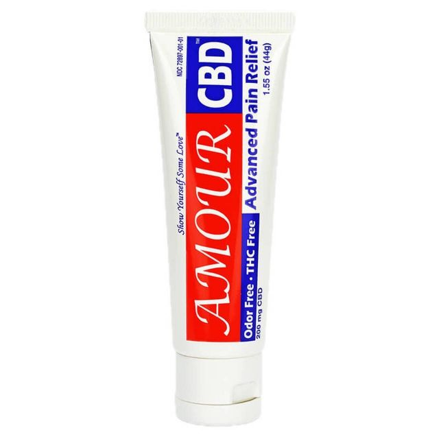 AmourCBD Broad Spectrum CBD Cream - Advanced Pain Relief Small Product Picture