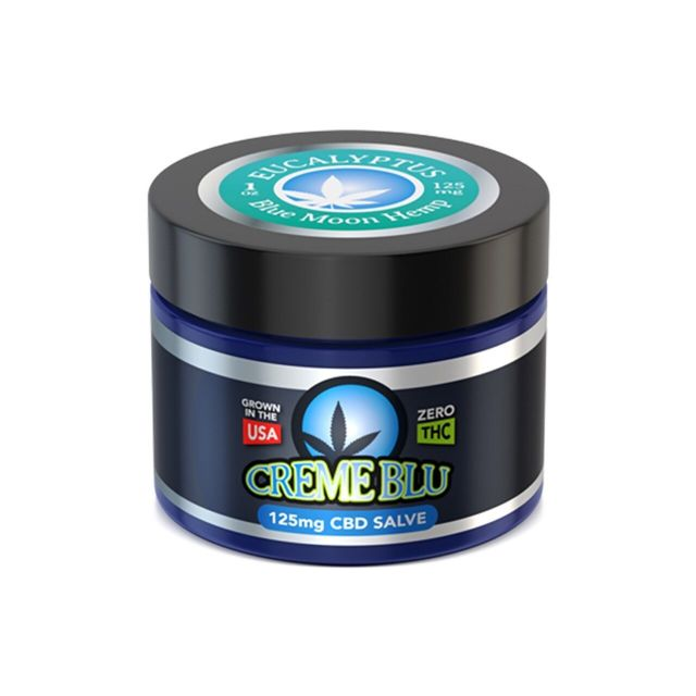 Blue Moon Hemp CBD Salve - Eucalyptus - 125mg Small Product Picture