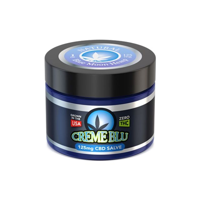 Blue Moon Hemp CBD Salve - Natural - 125mg Small Product Picture