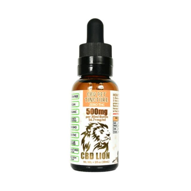 CBD Lion Isolate CBD Pet Tincture Small Product Picture