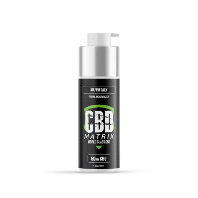 CBD Matrix AM/PM CBD Daily Moisturizer Cream - 60mg