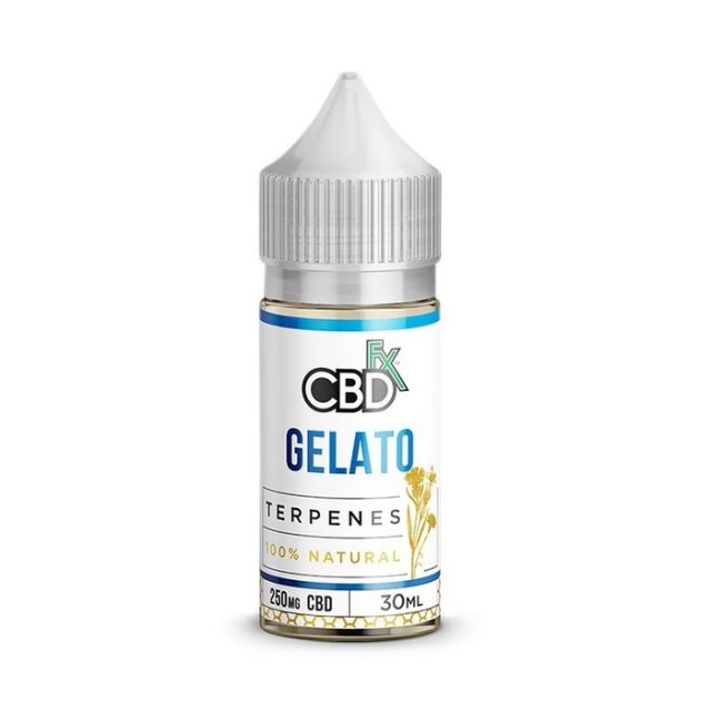 CBDfx Broad Spectrum CBD Terpenes Oil - Gelato - 250mg Small Product Picture