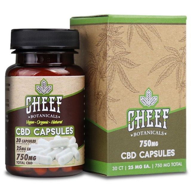 Cheef Botanicals Full Spectrum CBD Capsules