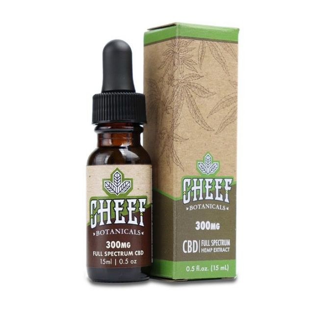 Cheef Botanicals Full Spectrum CBD Tincture