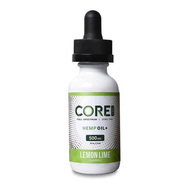 Core CBD CBD Tincture - Lemon Lime - 500mg Small Product Picture