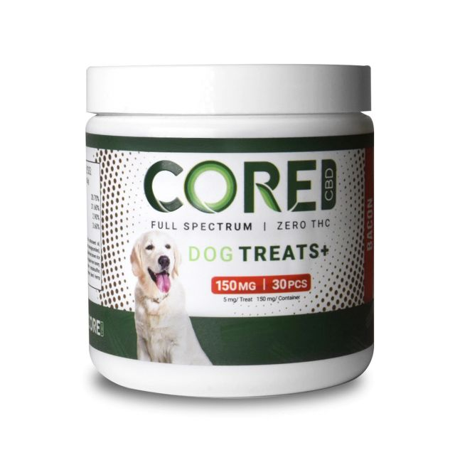 Core CBD Full Spectrum CBD Dog Treats - Bacon Flavor Small Product Picture
