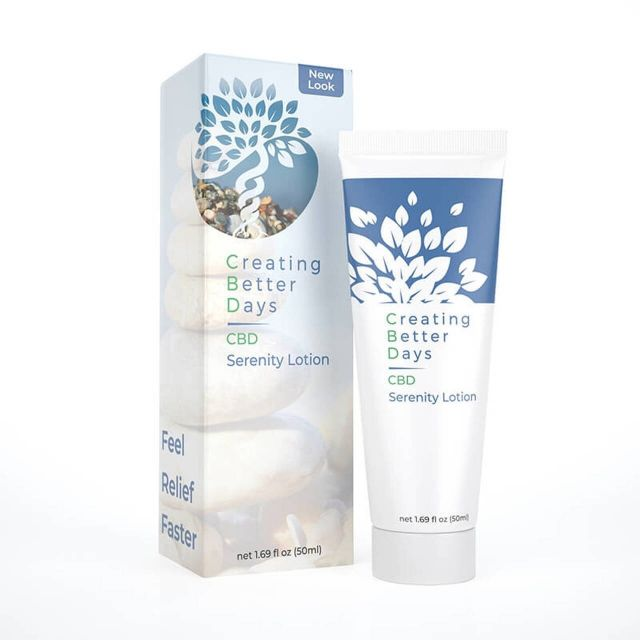 Creating Better Days CBD Serenity Lotion Small Product Picture