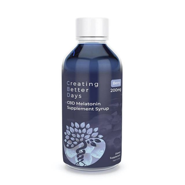 Creating Better Days CBD Syrup with Melatonin - Blueberry Small Product Picture
