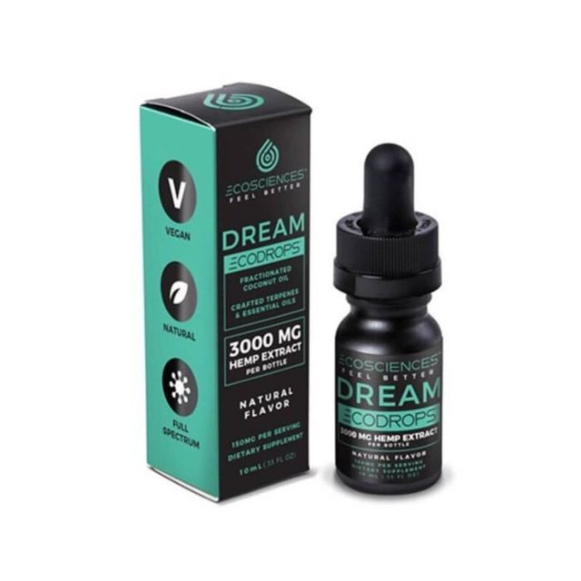 Eco Sciences Full Spectrum CBD Tincture - ECODROPS Dream - 500mg Small Product Picture