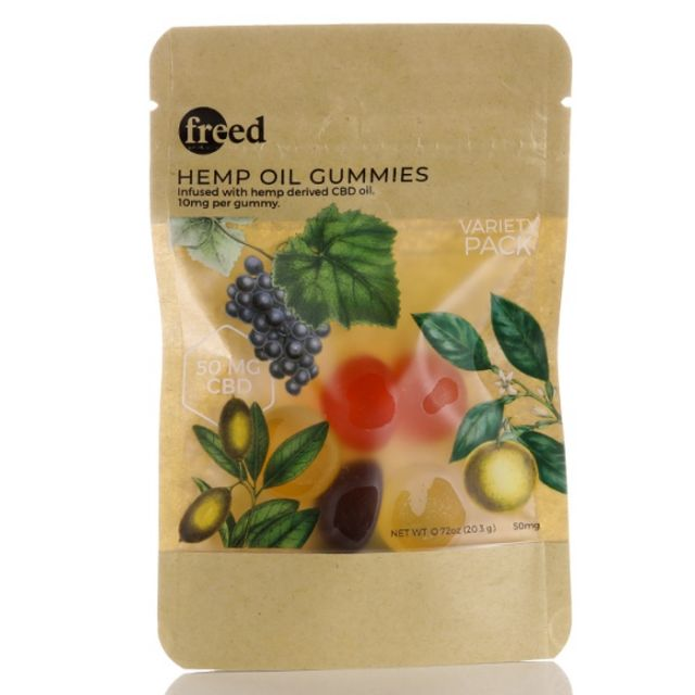 Freed Broad Spectrum CBD Gummies - 50mg