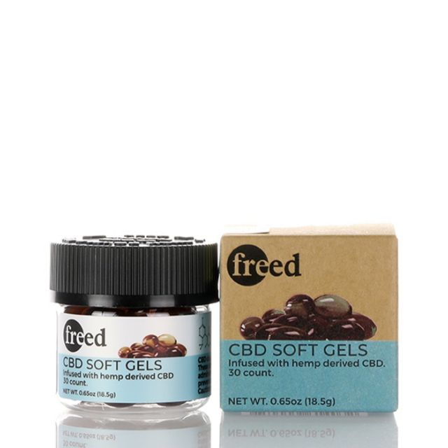 Freed Broad Spectrum CBD Softgel Capsules - 750mg - Regular