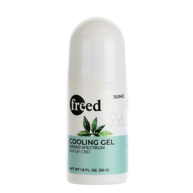 Freed Broad Spectrum CBD Roll-On Stick - Cooling Gel - 150mg