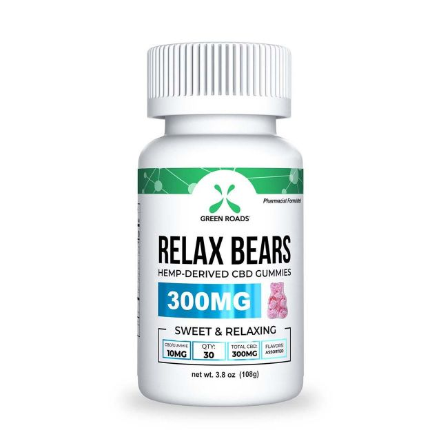 Green Roads CBD Relax Bears - 300mg