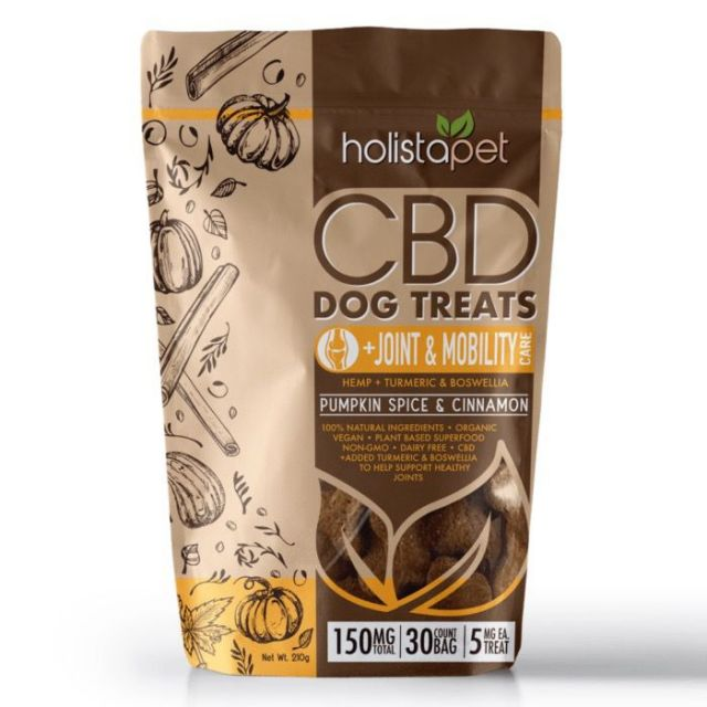 Holistapet Full Spectrum CBD Dog Treats - Joint & Mobility Care - 150mg