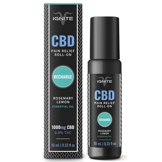 Ignite CBD Isolate CBD Roll On - Rosemary Lemon Small Product Picture