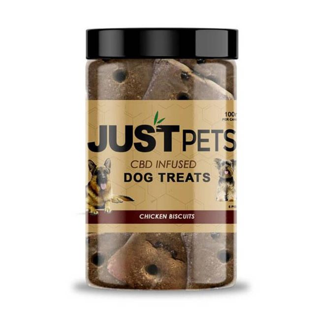 JustCBD CBD Dog Treats - Chicken Biscuits Small Product Picture