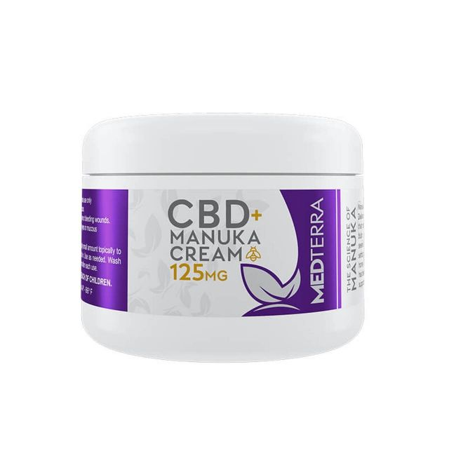 Medterra CBD Cream - Manuka - 125mg Small Product Picture