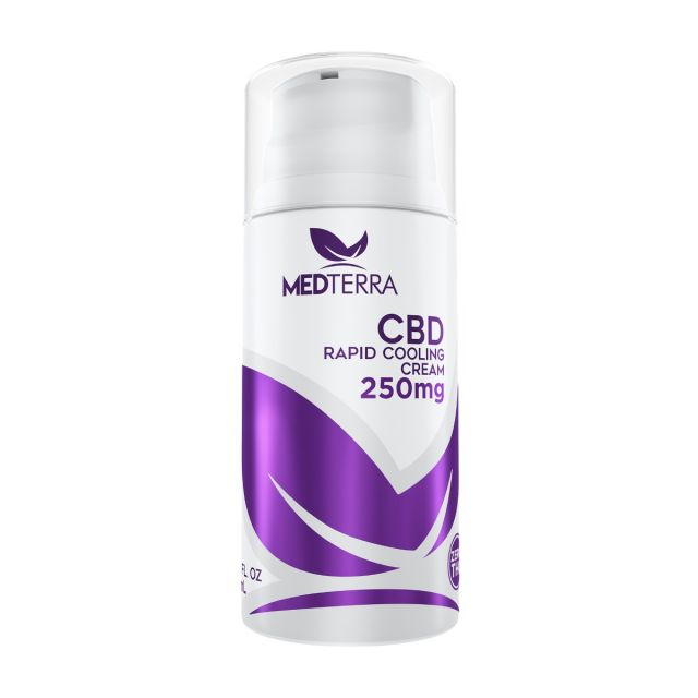 Medterra CBD Rapid Cooling Cream - 250mg