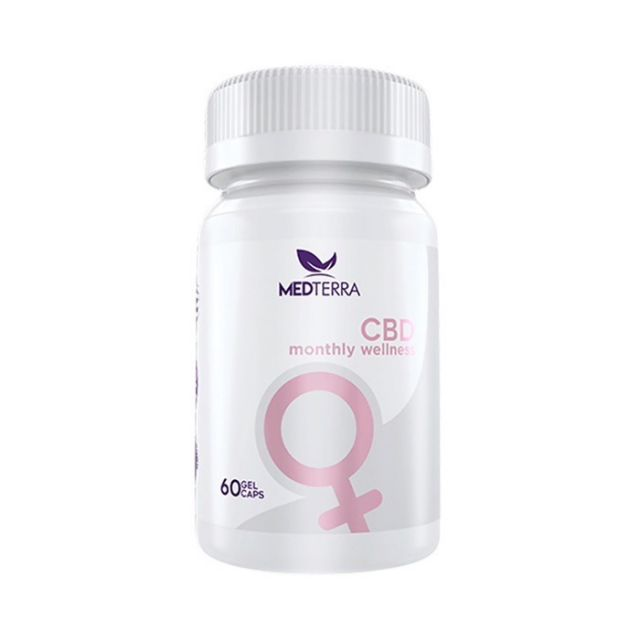 Medterra CBD Gel Capsules - Woman's Monthly Wellness - 1500mg Small Product Picture