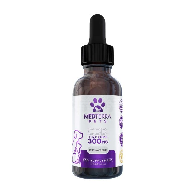 Medterra CBD Pet Tincture - Unflavored Small Product Picture