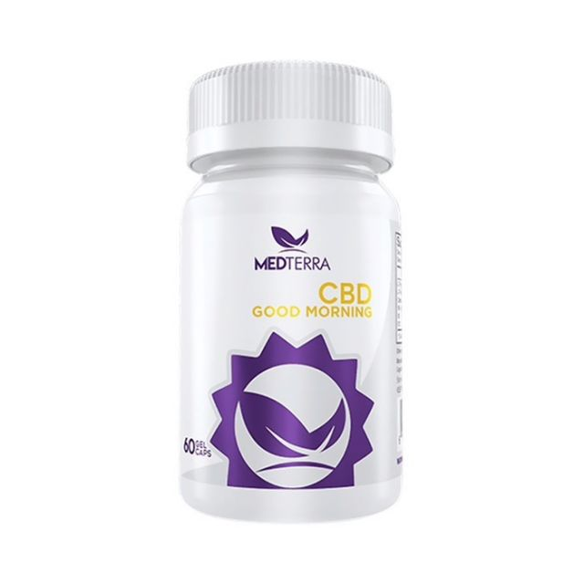 Medterra Good Morning CBD Gel Capsules - 1500mg Small Product Picture