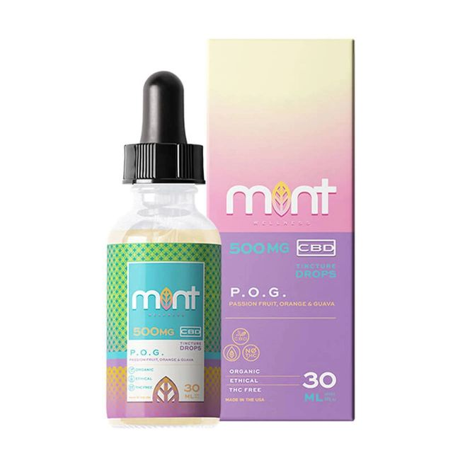Mint Wellness CBD Tincture - POG - 500mg Small Product Picture