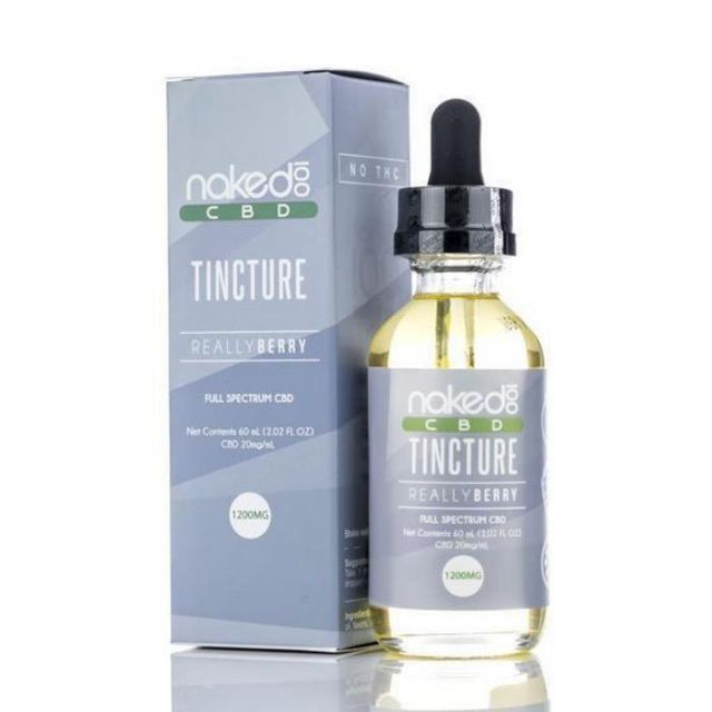 Naked 100 CBD CBD Tincture - Really Berry Small Product Picture