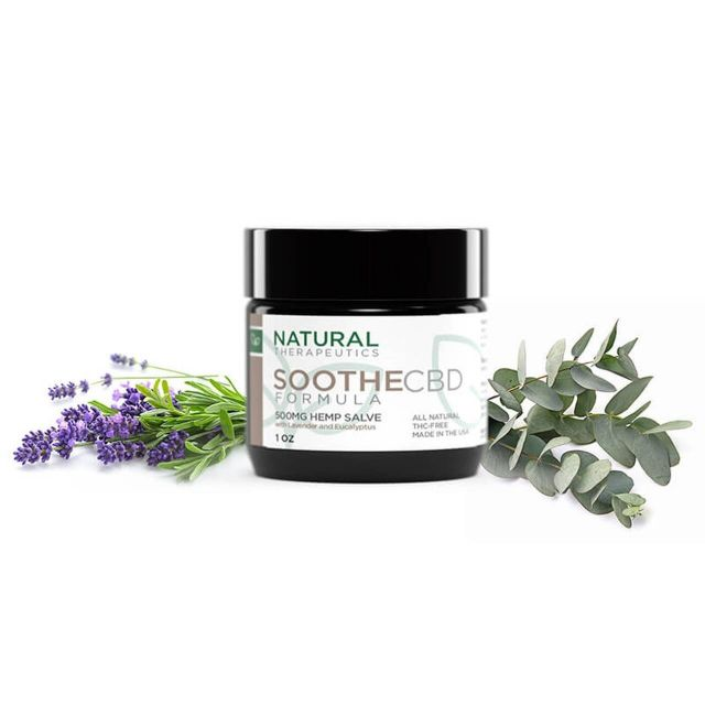 Natural Therapeutics Broad Spectrum CBD Salve - Soothe Small Product Picture