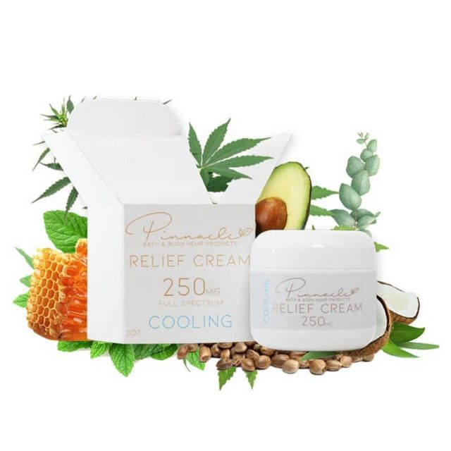 Pinnacle Hemp Full Spectrum CBD Relief Cream - Cooling - 250mg Small Product Picture