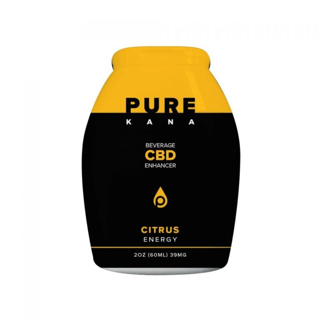 Pure Kana CBD Beverage Enhancer - Citrus (Energy)