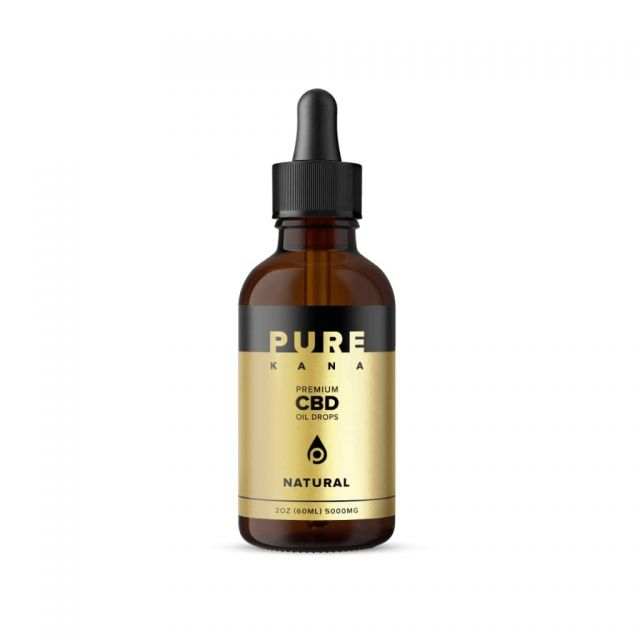 Pure Kana CBD Oil - Natural - Extra Strength