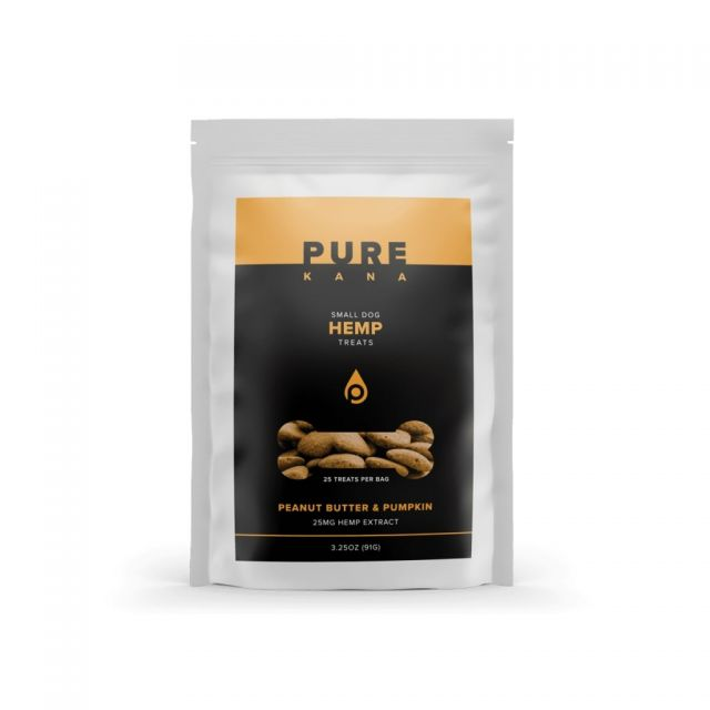 Pure Kana Hemp Dog Treats - Peanut Butter & Pumpkin